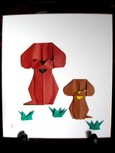 2006年干支「犬の親子」