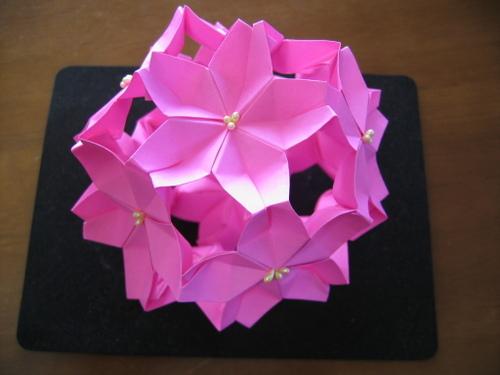 ハート 折り紙:桜玉 折り紙-zunda.cocolog-nifty.com
