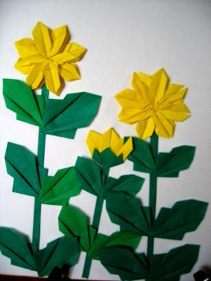 クリスマス 折り紙 折り紙 菊 : zunda.cocolog-nifty.com